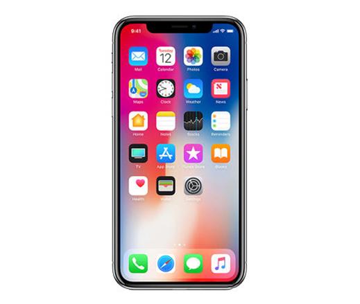 ابل ايفون X بدون تطبيق فايس تايم - 256 جيجا, الجيل الرابع ال تي اي, رمادي