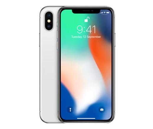 ابل ايفون X بدون تطبيق فايس تايم - 256 جيجا, الجيل الرابع ال تي اي, فضي