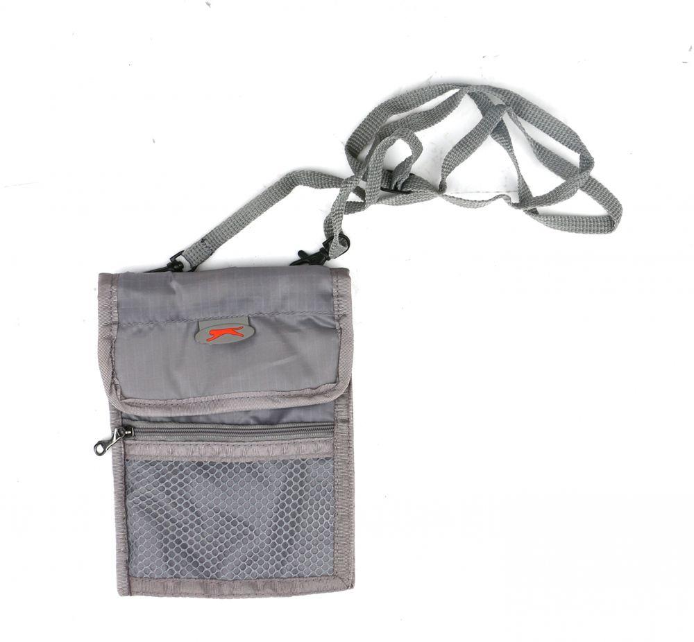 سلازنجر حقيبة للجنسين-رمادي - حقائب طويلة تمر بالجسم