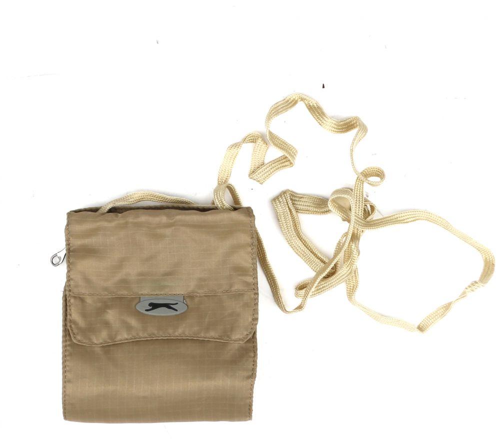 سلازنجر حقيبة للجنسين-بيج - حقائب طويلة تمر بالجسم