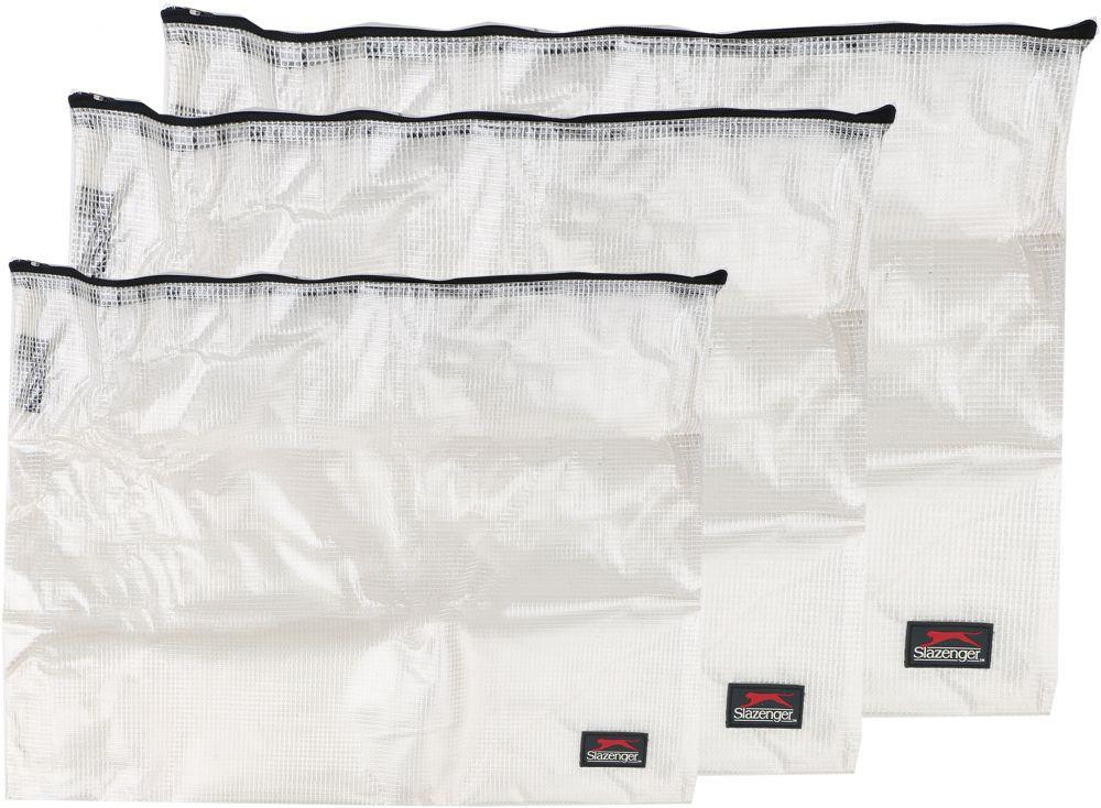 سلازنجر اكياس حفظ وتنظيم الاغراض الشخصية, 3 قطع , شفاف