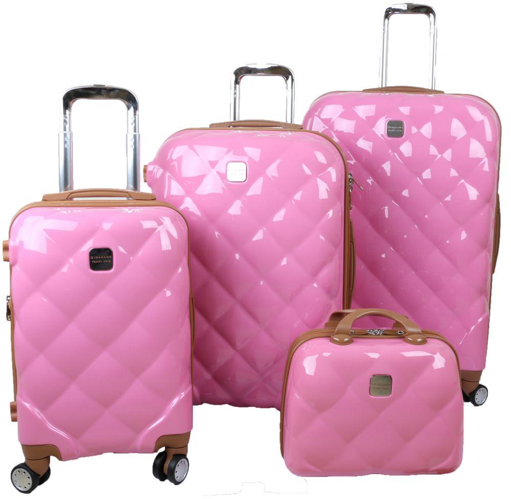 طقم حقائب سفر 4 قطع من جوردانيو-  زهري