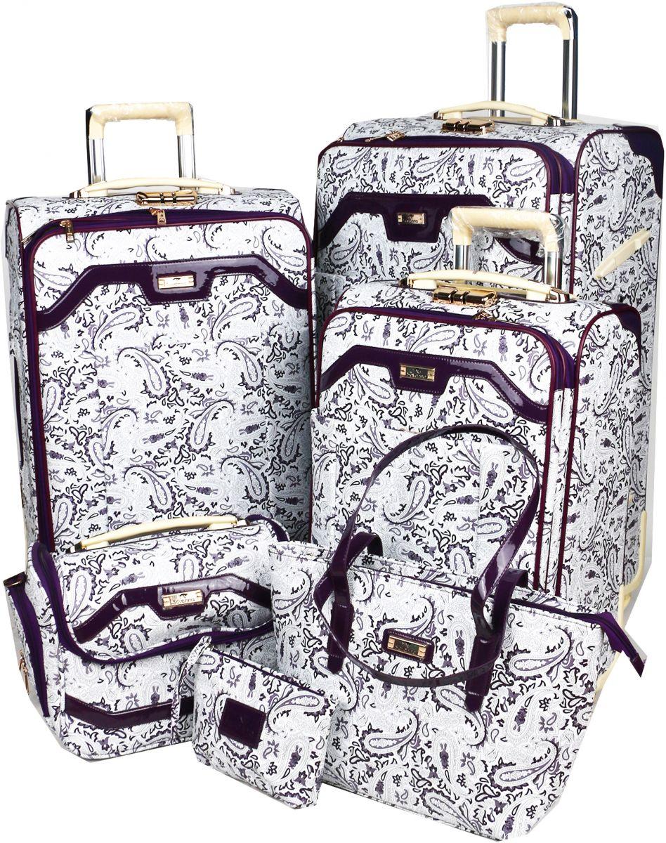 سافانا طقم حقائب سفر, 6 قطع, متعدد الالوان