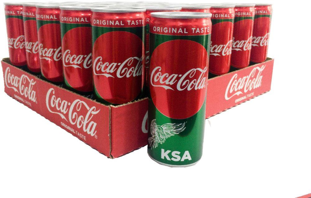 كوكاكولا مشروب غازي - 24X330 مل