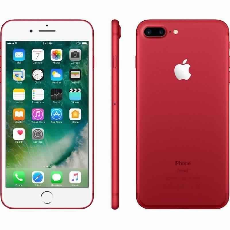 ابل ايفون 7 بلس ،جيجابايت 128 ،أحمر ،LTE