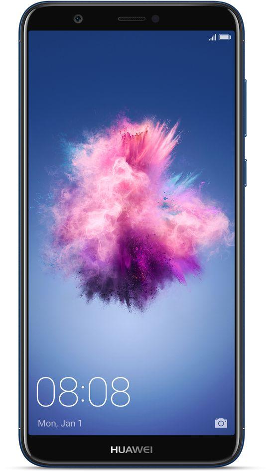 هاتف هواوي بي الذكي ثنائي شرائح الاتصال – 32 جيجا، ال تي اي  - ازرق
