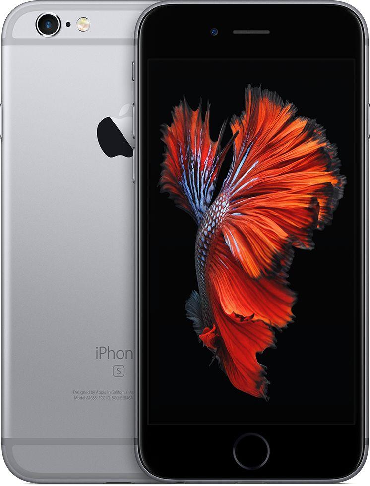 ابل ايفون 6s بلس مع فيس تايم - 64 جيجا، LTE، رمادي