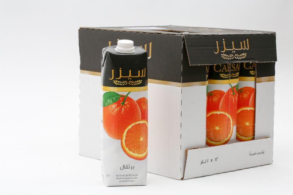 سيزر عصير برتقال 12 في 1 لتر