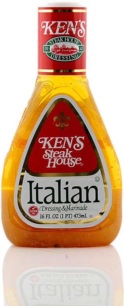 كينز صلصة وتتبيلة ايطالية 473 مل